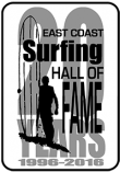 East Coast Surfing Hall of Fame logo