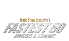 Trade executive's fastest fifty awards and summit logo