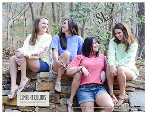 Southern Living Cotton Collection shirts and tees.