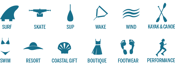 Surf Expo Categories