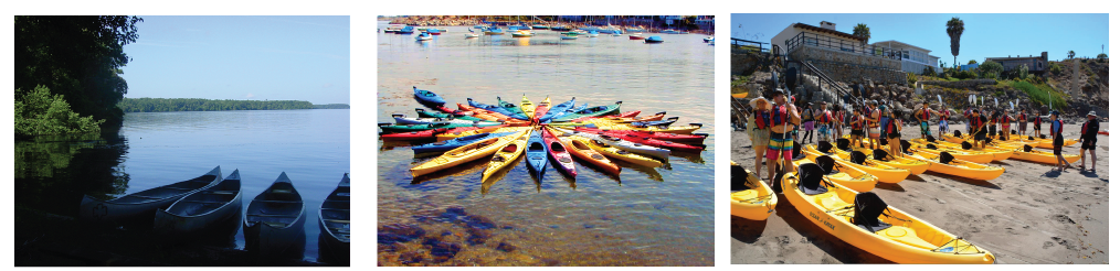 Surf Expo Kayak And Canoe Group of images