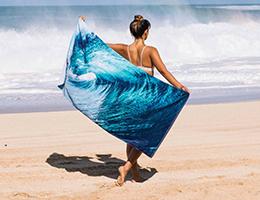 Slow tide towels