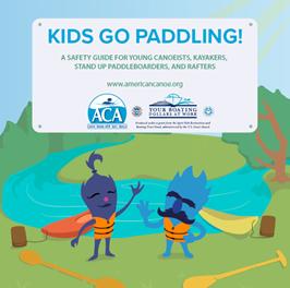 Kids go paddling